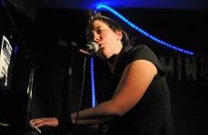 Hannah Brackenbury performs at the Musical Comedy Awards, London. January 2010