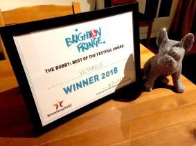 Broadway Baby Bobby Award 2018