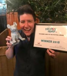 Hannah Brackenbury Brighton Fringe award